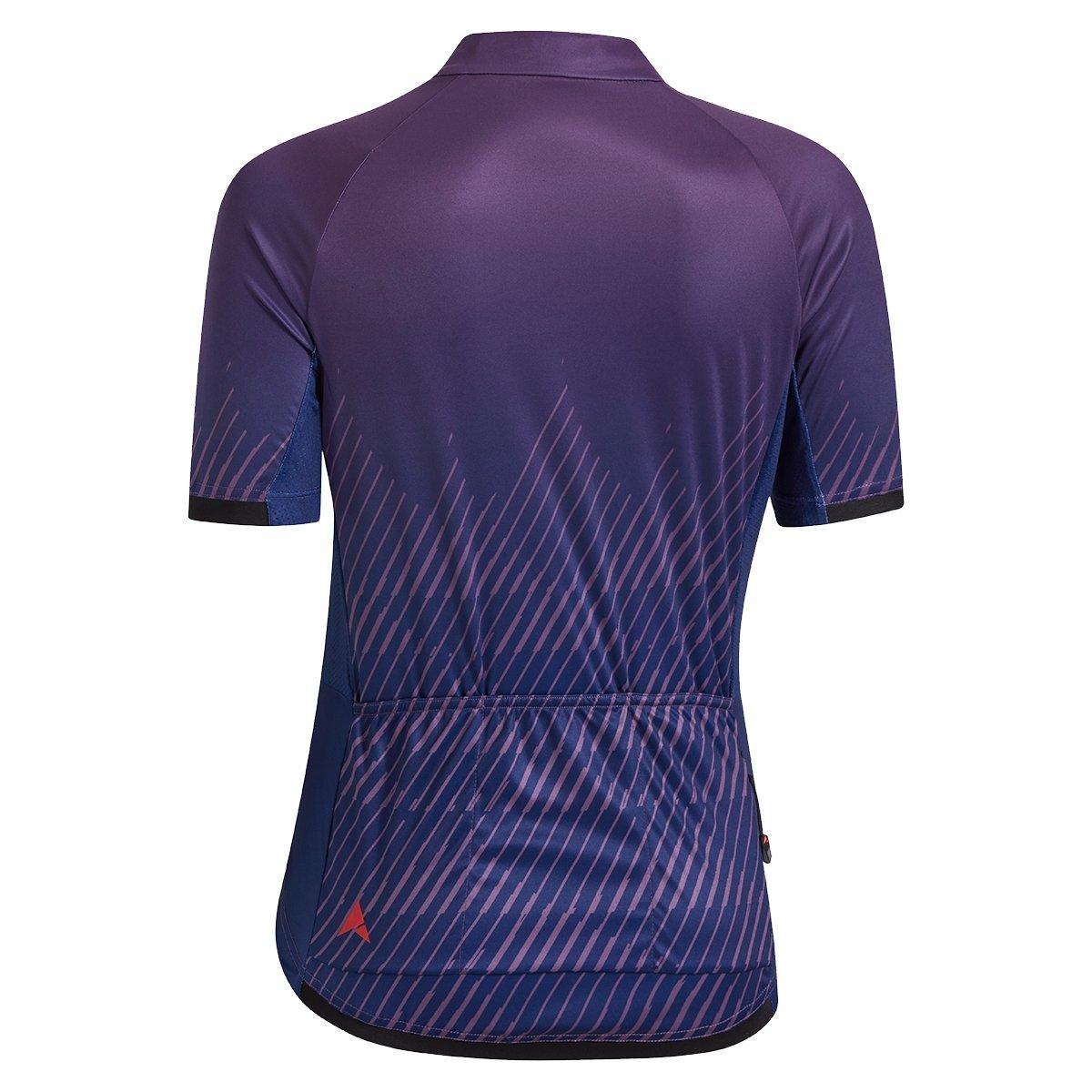 Altura Women's Icon Wave Short Sleeve Jersey - Purple