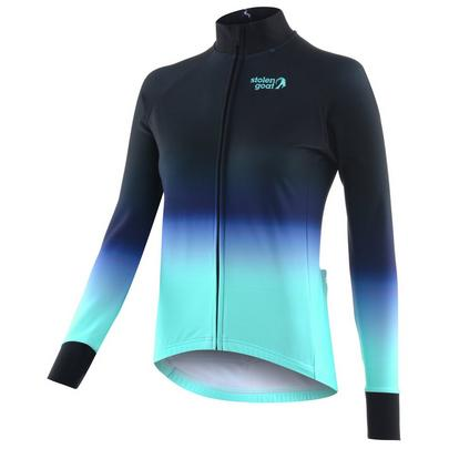 Stolen Goat Women's Orkaan Everyday Long Sleeve Jersey - Ayoki Blue