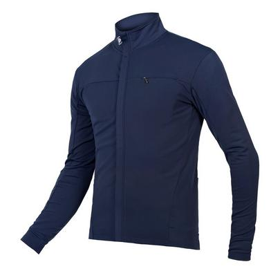 Endura Men's Xtract Roubaix Long Sleeve Jersey - Navy