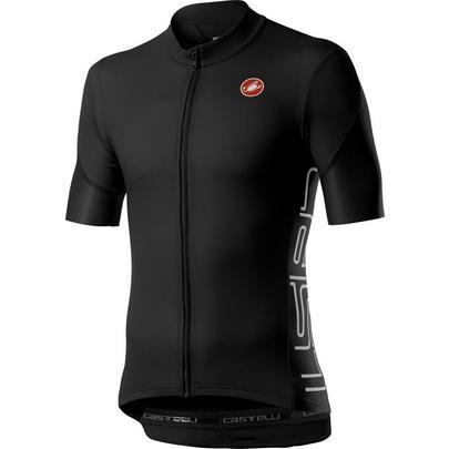 Castelli Men's Entrata V Jersey - Light Black