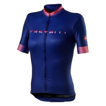 Castelli Women's Gradient Jersey - Lapis Blue