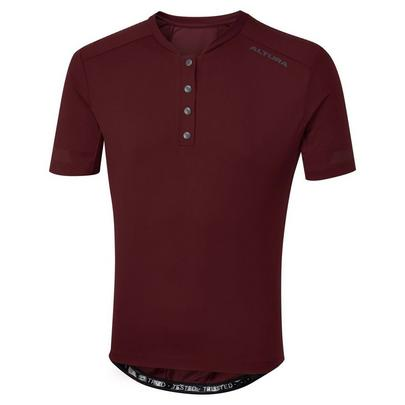 Altura Men's All Road Classic Short Sleeve Jersey - Maroon