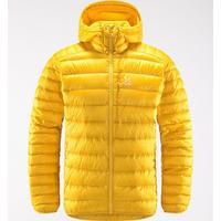 Men's Roc Down Hooded Jacket - Pumpkin Yellow