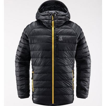 Haglofs Men's V Series Mimic Hood Jacket - True Black
