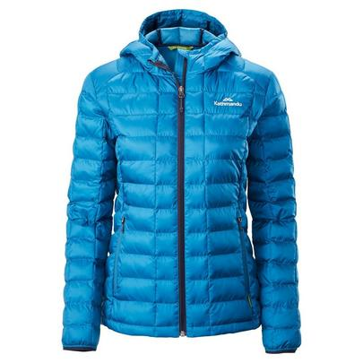 Kathmandu Women's Heli Thermore Hooded Jacket - Blue