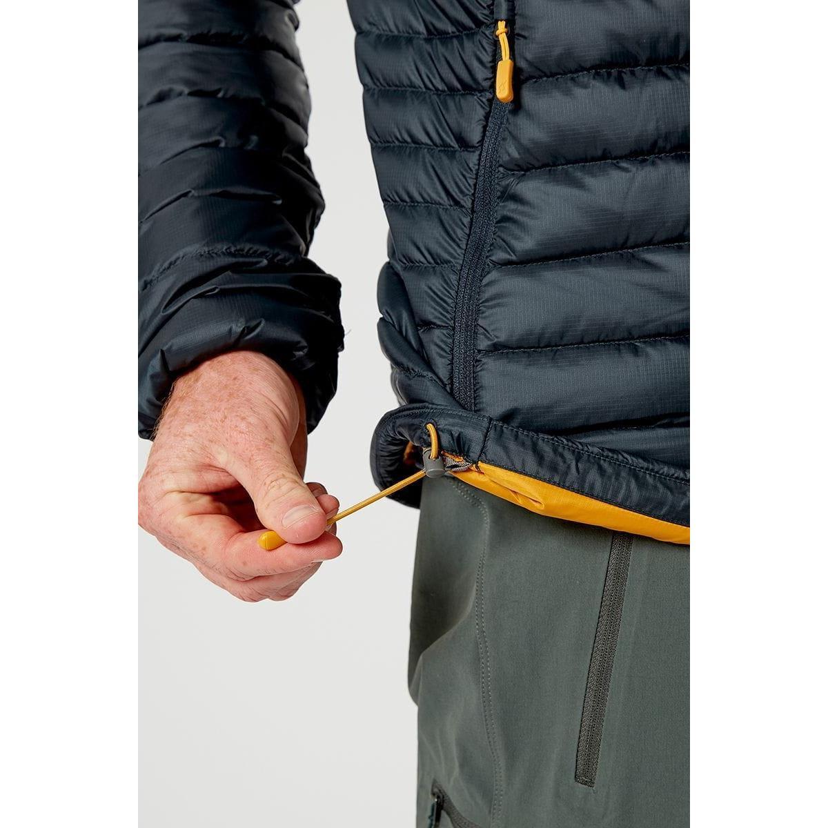 Rab Men's Rab Microlight Alpine Jacket - Grey