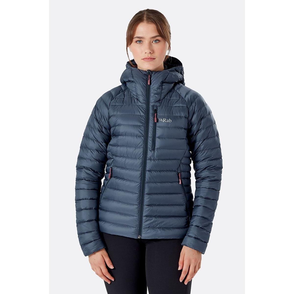 Rab Women's Rab Microlight Alpine Jacket - Grey