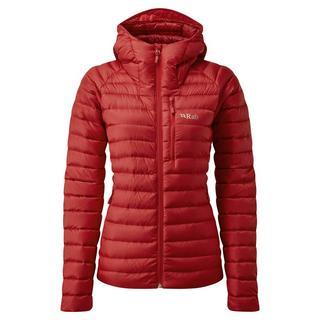 Women's Rab Microlight Alpine Jacket - Red