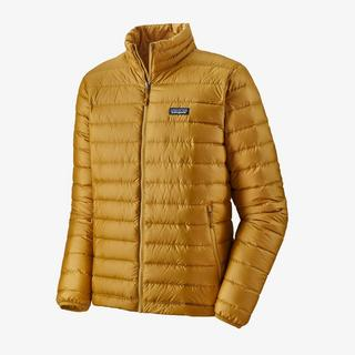 Men's Down Sweater - Gold