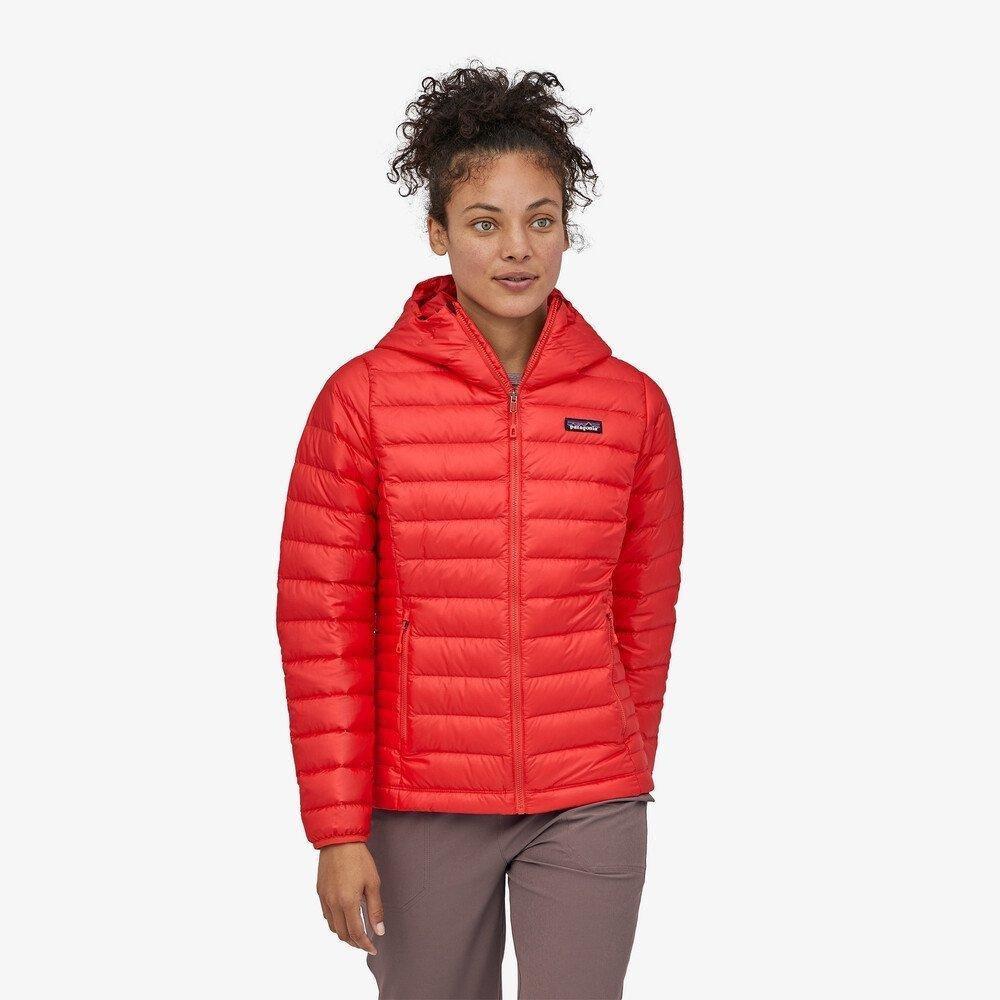 Patagonia Women's Patagonia Down Sweater Hoody - Orange