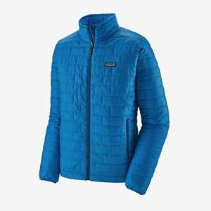 Men's Nano Puff Jacket - Andes Blue