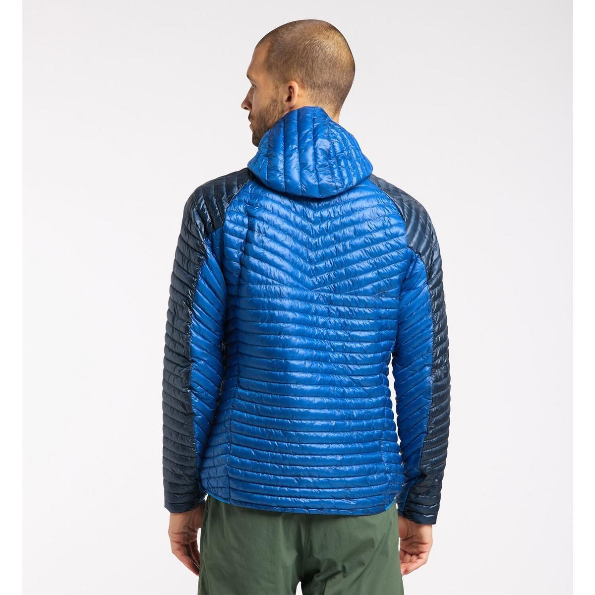 Haglofs Men's LIM Mimic Hood Jacket - Storm Blue