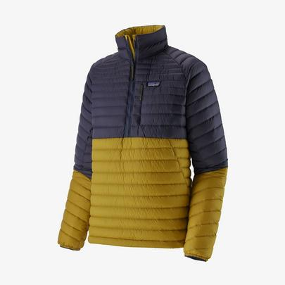 Patagonia Men's Alplight Down Pullover - Textile Green