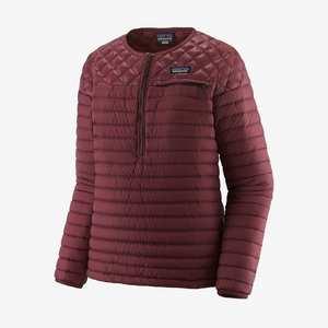 Women's Alplight Down Pullover - Dark Ruby