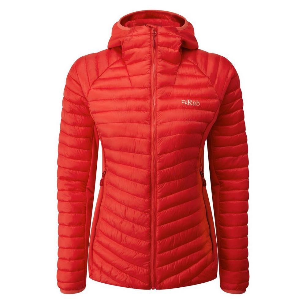 Rab Women's Rab Cirrus Flex Hoody - Red