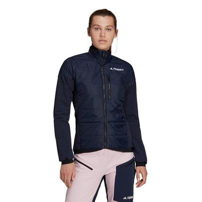 adidas terrex Women's Hybrid Insulation Jacket - Navy