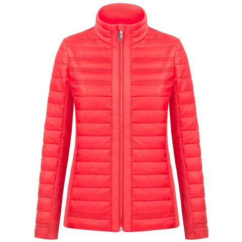 Red Poivre Blanc Women s Hybrid Quilted Jacket 3cc05bfa5