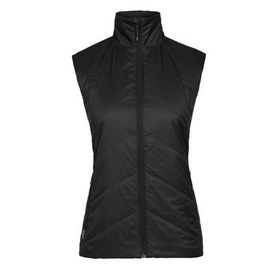 Icebreaker Women's MerinoLOFT Helix Vest - Black
