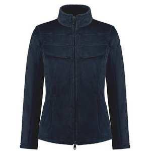 Women's Cosy Fleece Jacket - Gothic Blue
