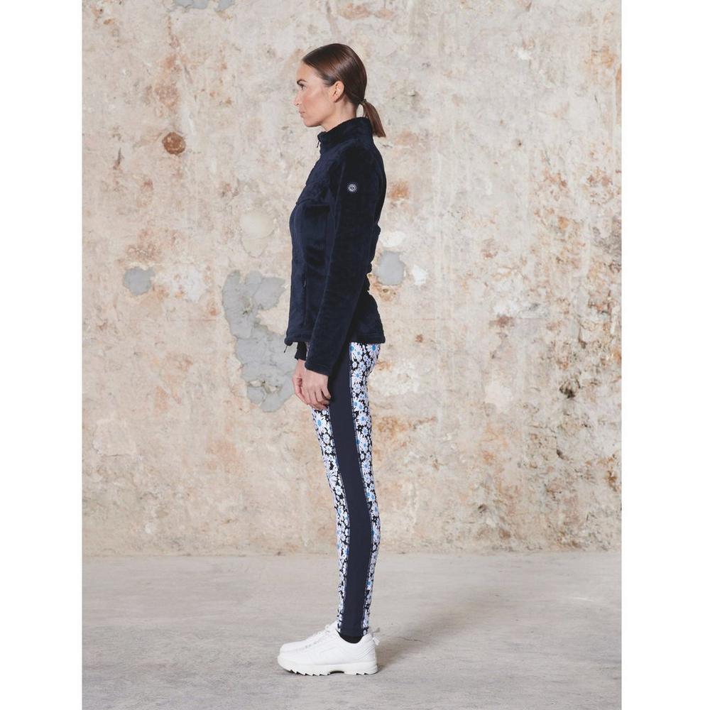 Poivre Blanc Women's Cosy Fleece Jacket - Gothic Blue