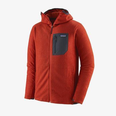 Patagonia Men's R1 Air Full Zip Hoody - Hot Ember