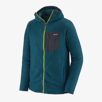 Patagonia Men's R1 Air Full Zip Hoody - Crater Blue