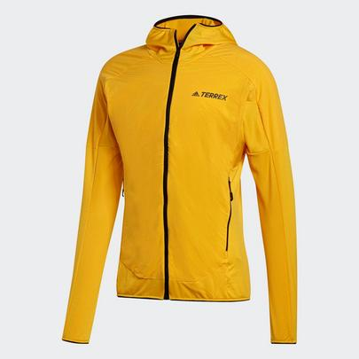 Adidas Men's Terrex Skyclimb Fleece Jacket - Active Gold