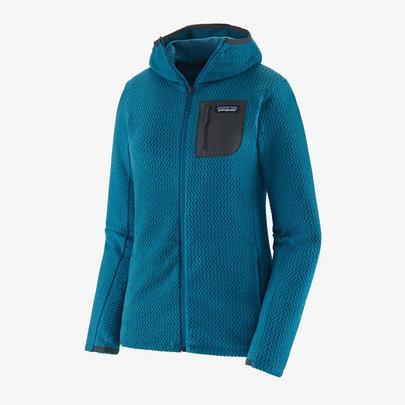 Patagonia Women's R1 Air Full Zip Hoody - Steller Blue
