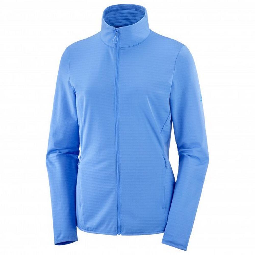 Salomon Women's Outrack Full Zip Mid Jacket