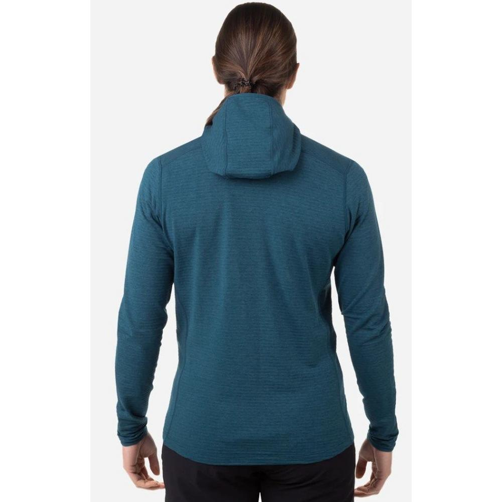 Mountain Equipment Women's Lumiko Hooded Jacket - Blue