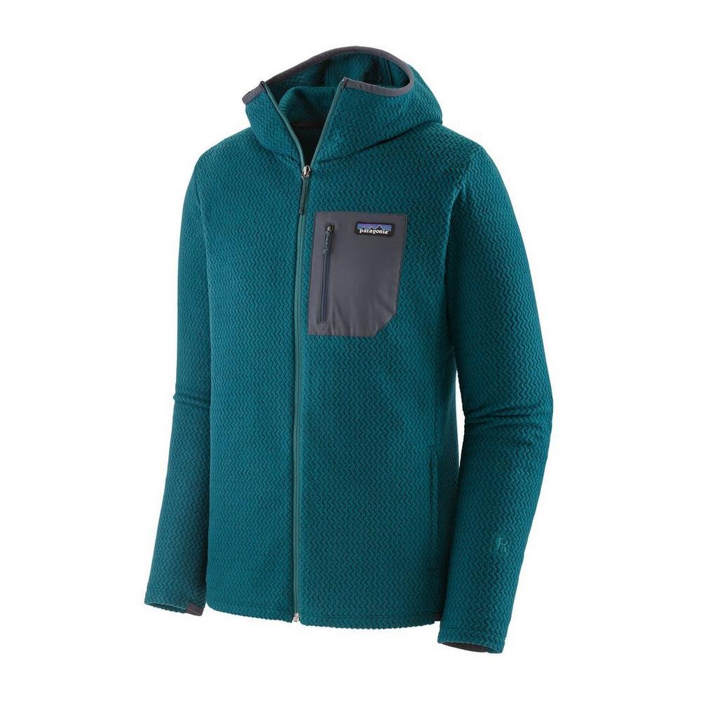 Patagonia R1 Air Full Zip Hoody - Dark Borealis Green