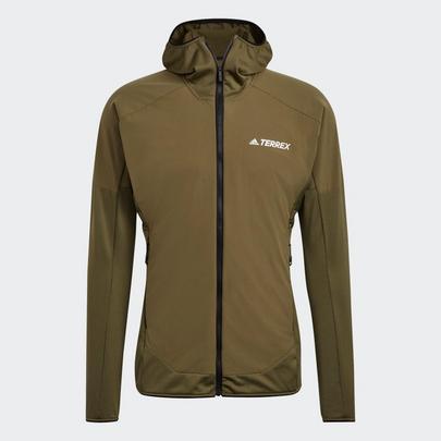 Adidas Men's Terrex Skyclimb Fleece Jacket - Focus Olive