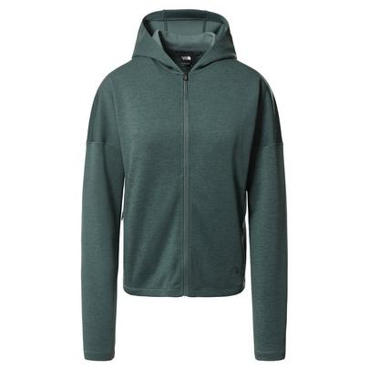 The North Face Women's Basin Full-Zip Hoodie - Green