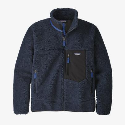 Patagonia Men's Classic Retro-X Fleece Jacket - Navy