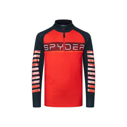 Spyder Kid's Limitless Peak Zip T-Neck