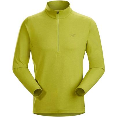 Arcteryx Motus Ar Zip Neck LS - Glade Heather