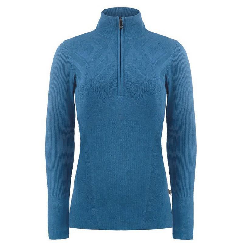 Women's Knit Sweater - Twilight Blue