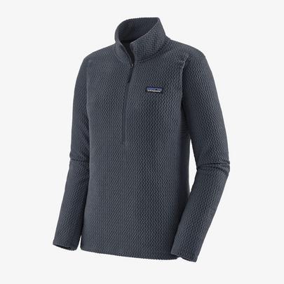 Patagonia Women's R1 Air Zip-Neck - Smolder Blue