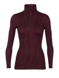 Women's 250 Vertex Long Sleeve Half Zip Drift