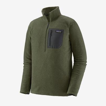 Patagonia Men's R1 Air Zip-Neck - Green