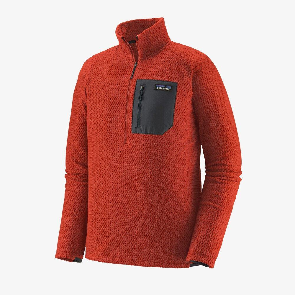 Patagonia Men's R1 Air Zip Neck - Hot Amber