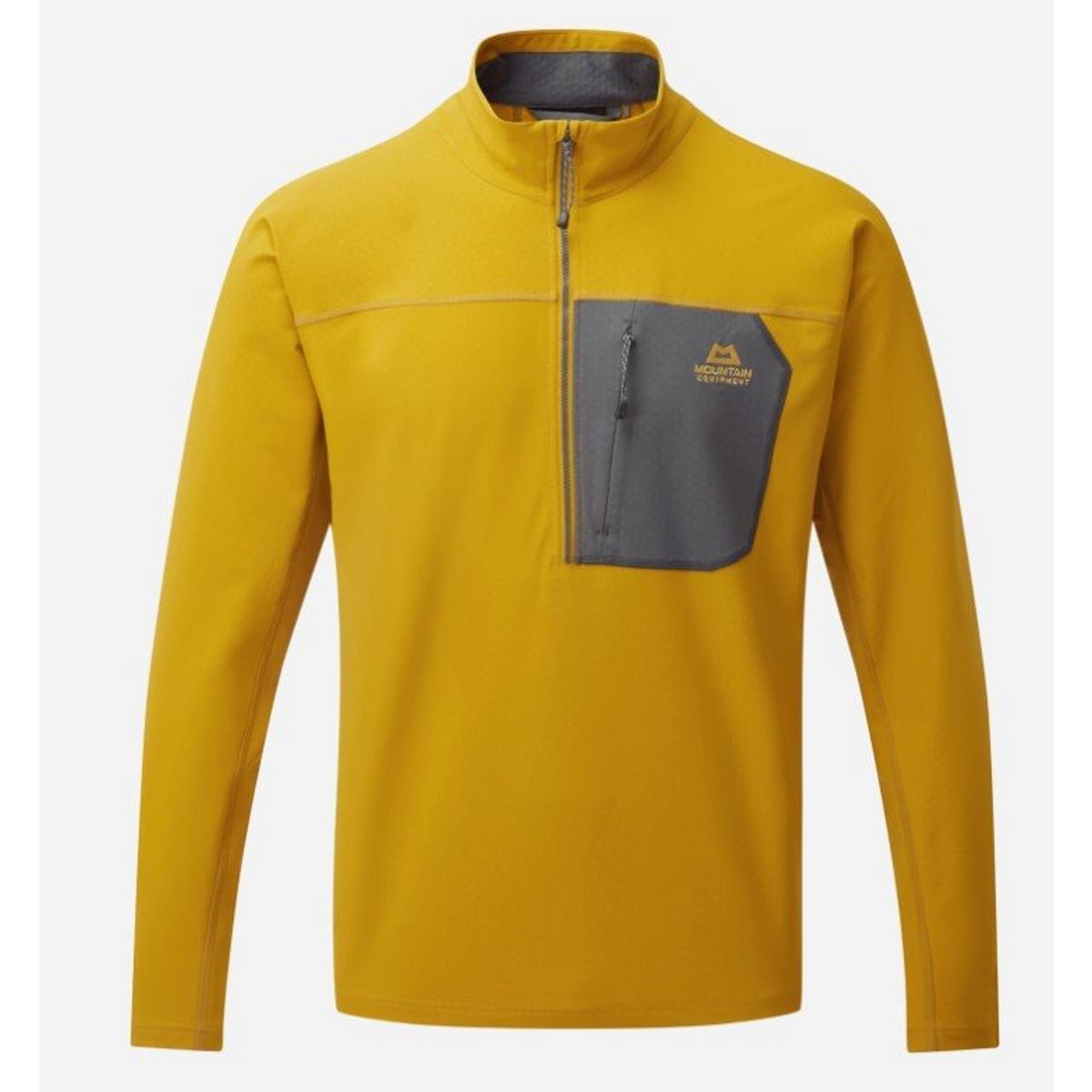Mountain Equipment Men's Arrow Quarter Zip - Yellow