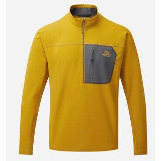 Men's Arrow Quarter Zip - Yellow