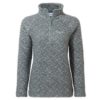 Craghoppers Women's Talladale Half Zip Fleece Jacket - Green
