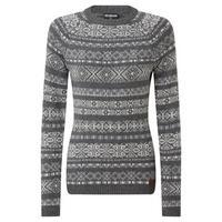 Women's Paro Crew Sweater - Kharani Grey
