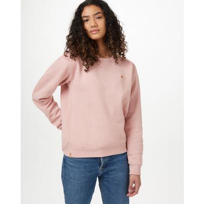 Tentree Women's BF Crew - Pink