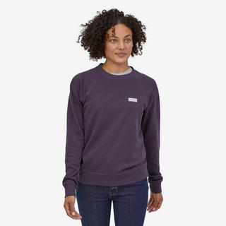 Women's Pastel P-6 Organic Crew - Purple