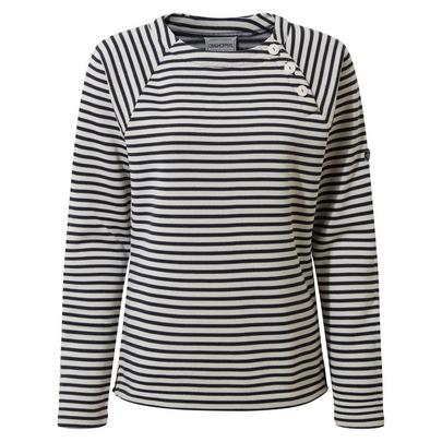 Craghoppers Women's Neela Crew Neck - Navy Stripe