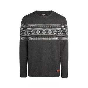 Men's Nathula Crew Sweater - Kharani Grey
