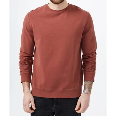 Tentree Men's French Terry Classic Crew - Red